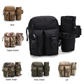 Tactical Bag Military Molle Outdoor Travel Sport Bag Fanny Pack Detachable Water Bottle Holder Waist Belt