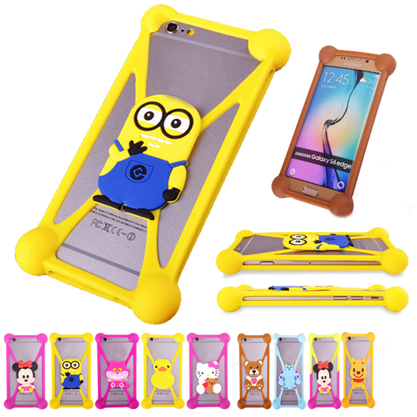 3D Cartoon Minions TPU Cell Phone Case For HTC Desire 616 Desire 610 Anti -knock Case Cover Silicone Universal Case Accessory(China (Mainland))