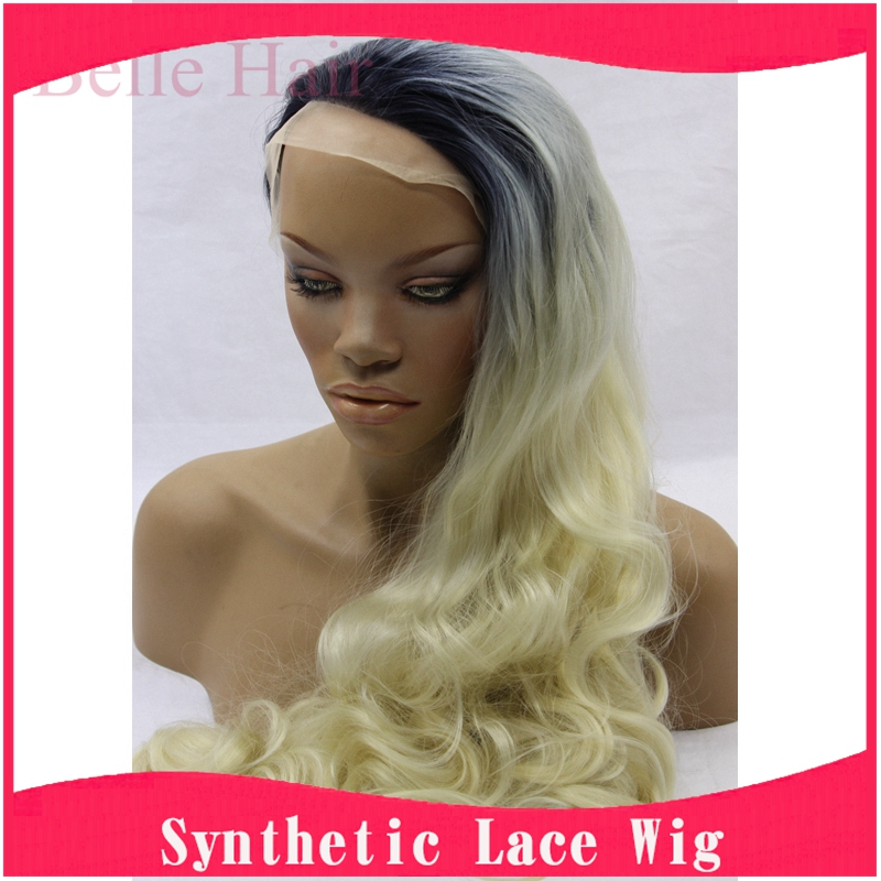 ombre synthetic wigs cheap long blonde wigs synthetic sexy female short haircut wigs Nice natural looking women wigs cosplay(China (Mainland))