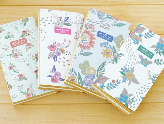 New sweet vintage Garden Life notebook /Bare style hand cover book/DIY Journal Notepads/agenda/wholesale<br><br>Aliexpress