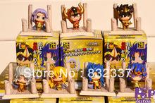 High Quality Pop anime figure PVC Cute Saint Seiya action figure toys For Christmas Gifts 7PCS/SET Free Shipping
