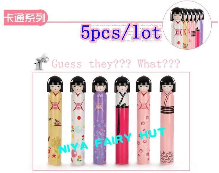 5 шт. / много kokeshi кукла зонтик со многими конструкций и будьте уверены