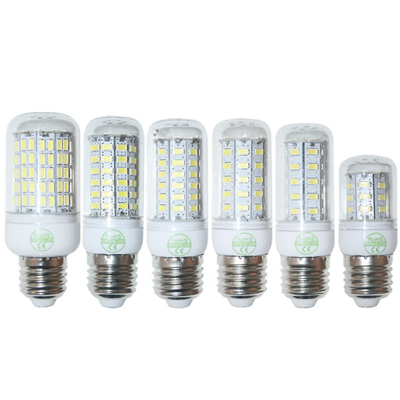 SMD 5730 9W 12W 15W 20W 25W 35W E27 LED Corn Lamp 24LED 36LED 48LED 56LED 69LED 110LED Bulb Light 220V/110V Retail(China (Mainland))