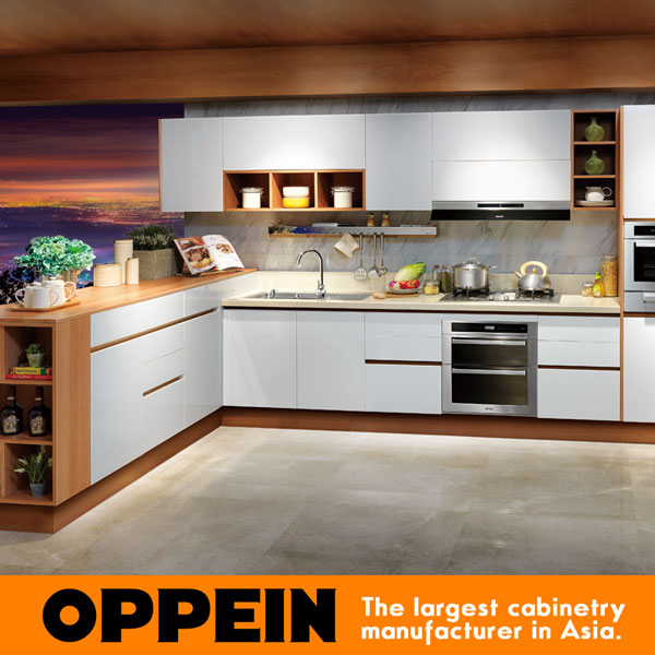 Buy china laminate modern kitchen cabinet for Modern kitchen cabinet manufacturers