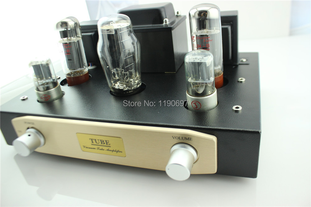 EL34B Single Ended Tube Amplifier 5Z3P Rectifier Tube 6N9 Tube Hifi Stereo Audio DIY EL34+6N9+5Z3P AUDIO DIY Kit(China (Mainland))
