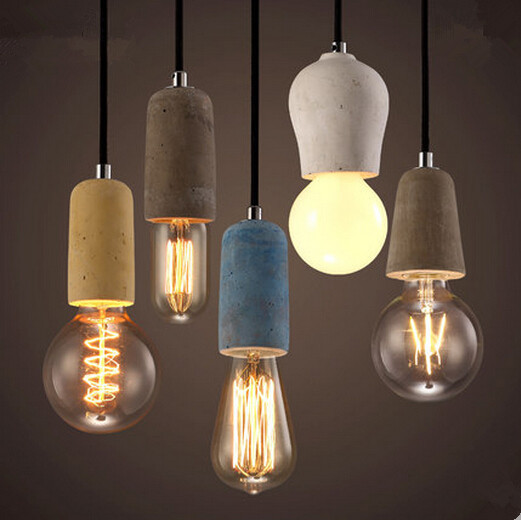 Resin Retro Loft Style Vintage Industrial Lighting Pendant Lights Hanging Lamps Fixtures For Dinning Room,Lamparas Conlgantes<br><br>Aliexpress