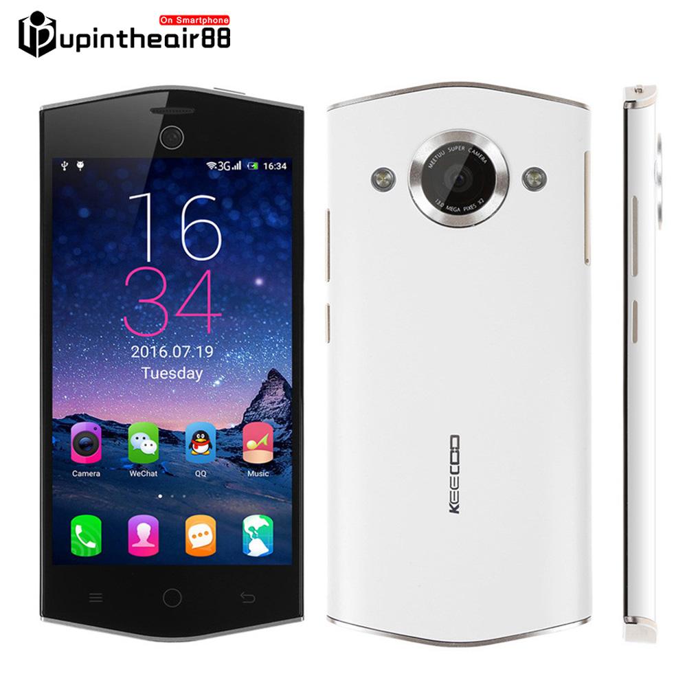 "New Brand Keecoo K1 Android 6.0 MTK6735P Quad Core 4G LTE 5.0"" 2G RAM 16G ROM 13MP 2300mAh 1280*720 Ladies Phone Beauty Effect(China (Mainland))"