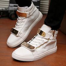 Кроссовки GZ марка мужчины спорт обувь высокая верхний металл блёстки обувной размер 39 — 44