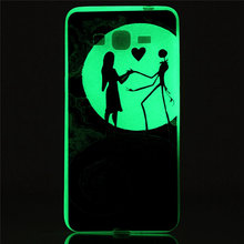 Fluorescent Noctilucent Case For Samsung Galaxy Grand Prime G530 G530H G5308W G531 G531H G5309W G5306W Slim Gel Soft Phone Cover
