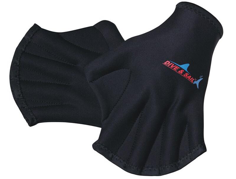 New! 2mm Neoprene Webbed Gloves for Swimming Training Surfing Swim Paddle Free Shipping(China (Mainland))