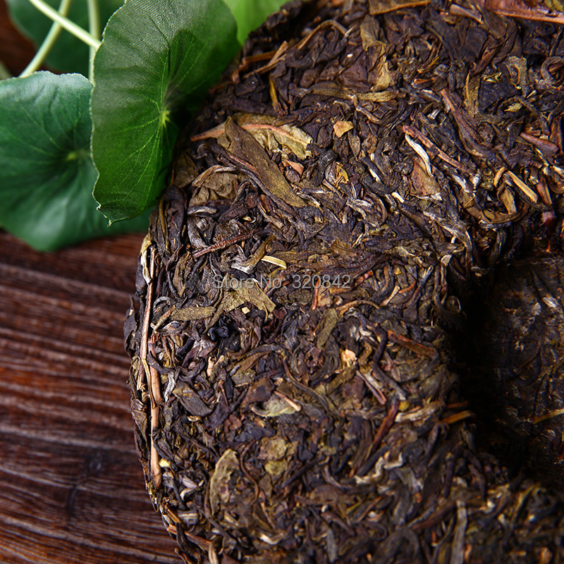 Yunnan raw Puer tea 357g pu er tea cake shen puerh wholesale the chinese green pu