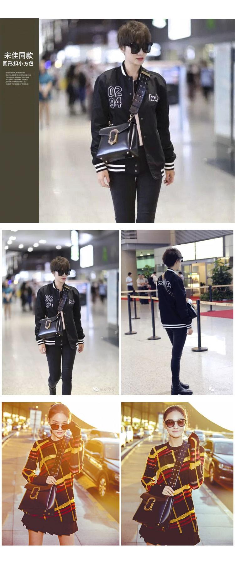 women leather winter bag  metal rivet lady cross body bag   shoulder   box bag with metal  brand luxury design