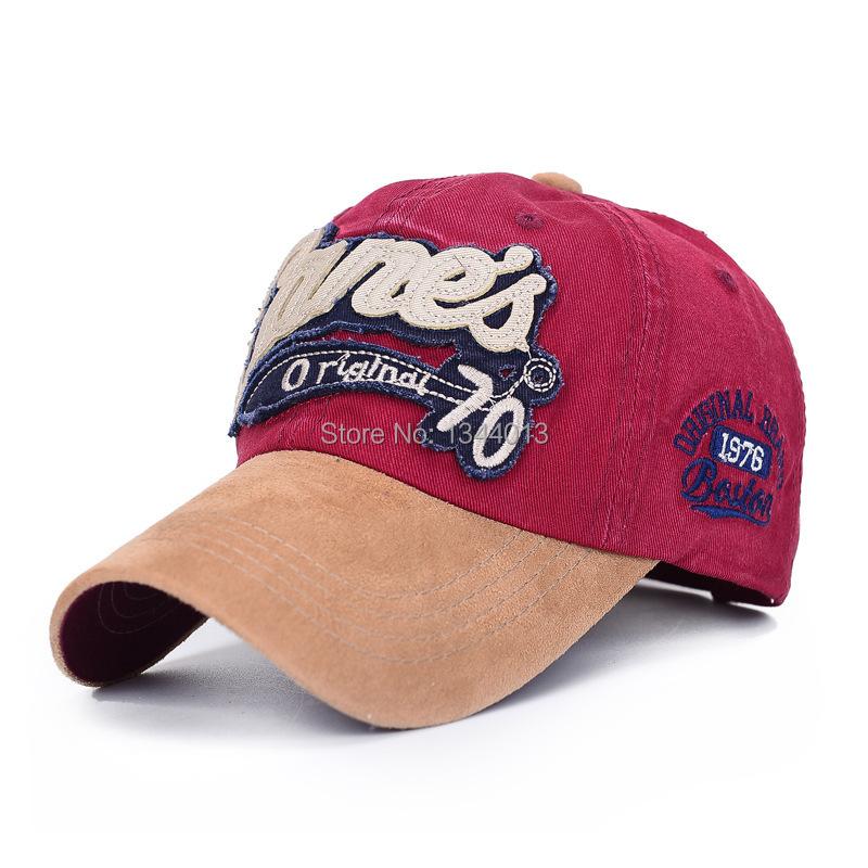 2015 Snapback Caps Snapback Manufacturers, Wholesale Cotton Ms. Han Guochun Summer Baseball Cap Embroidered Suede Hat Sun Men(China (Mainland))
