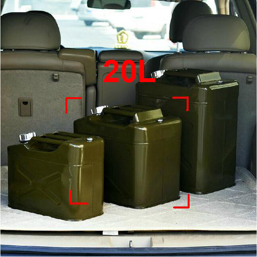 20L Steel Petrol Tank for Jeep Ford Dodge Trucks Oil tank Gasoline Storage Container Petrol Cans Petrol Bucket Free Shipping