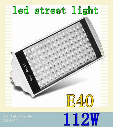 112W AC85-265V 112 leds E40 Warm White/ Cold White Led Street Road Lights Lamps Streetlight 2PCS/LOT(China (Mainland))