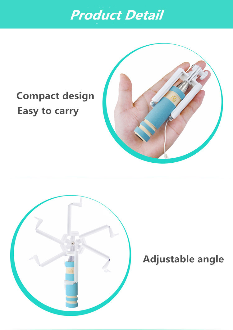image for Handheld Extendable Selfie Stick For IPhone 6 6s Plus 5 5s For Samsung