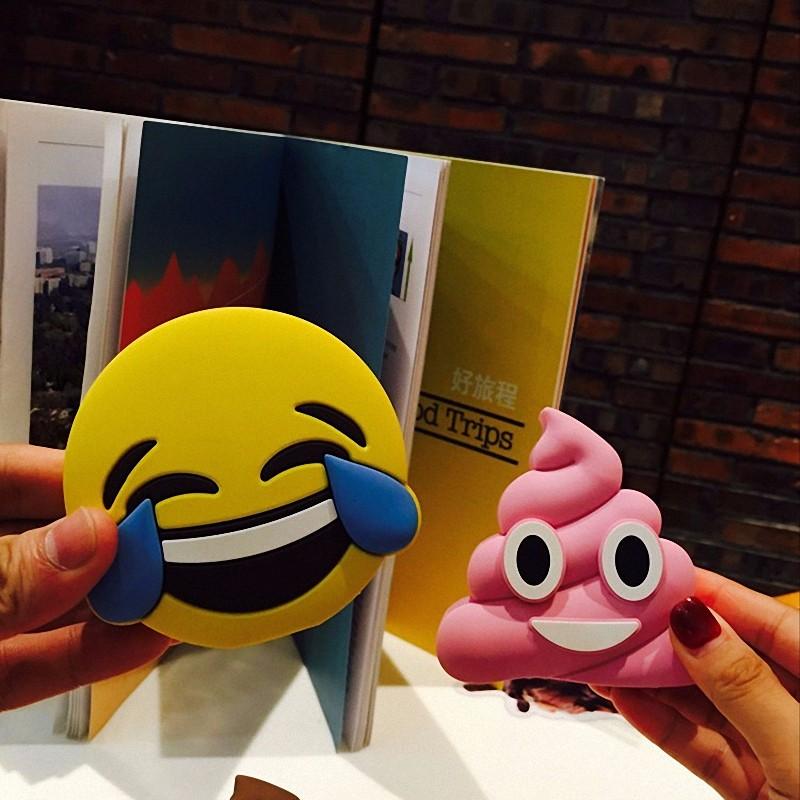 NEW 2600mAh Unicorn powerbank Cute Portable Emoji Power Bank Charger Cartoon USB Battery Bateria For all phone
