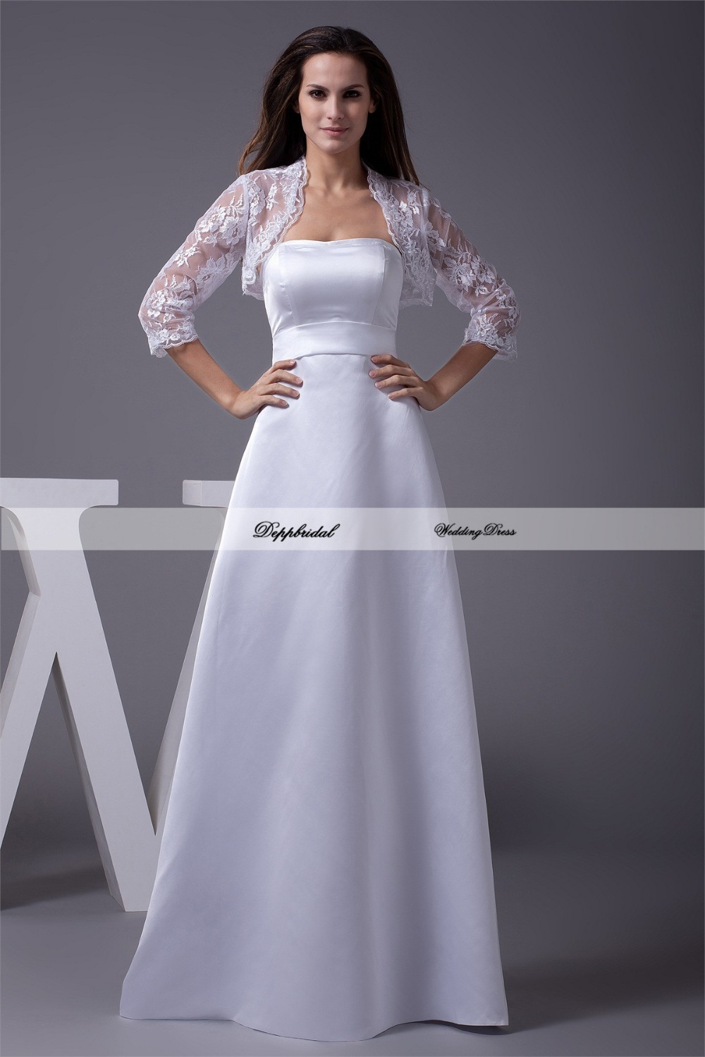 buy wholesale wedding dress satin strapless sashes
