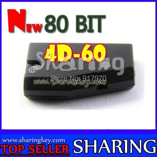New 80 Bit 4D 60 Transponder Chip For toyota ford nissan car key offer best price