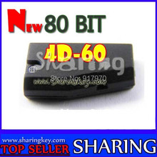 New 80 Bit 4D-60 10pcs/lot Transponder Chip For Toyota ford Nissan car key