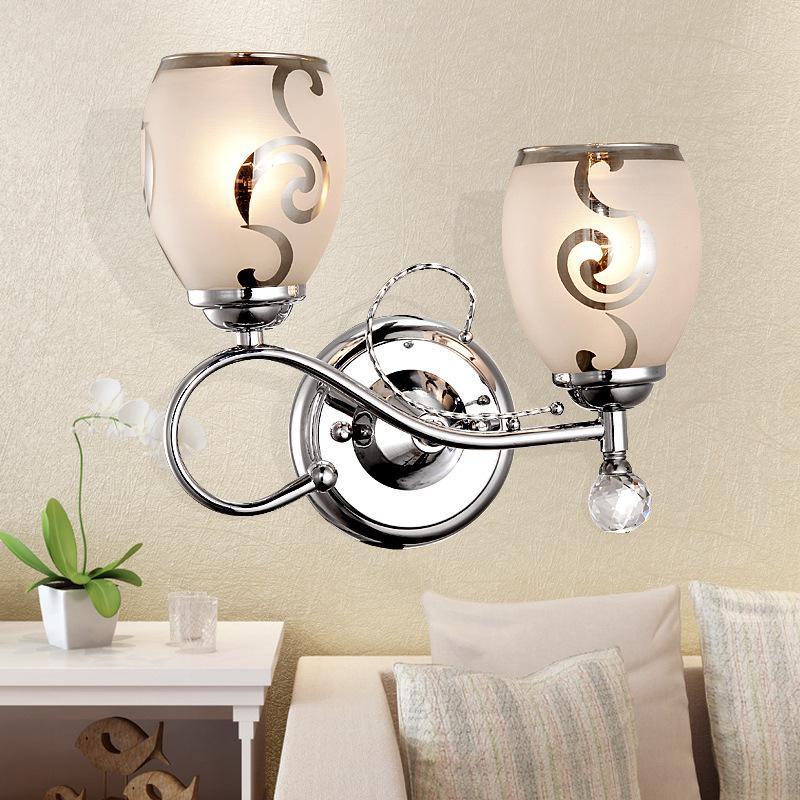 Slaapkamer Wandlamp : Eenvoudige moderne dubbele slaapkamer wandlamp ...