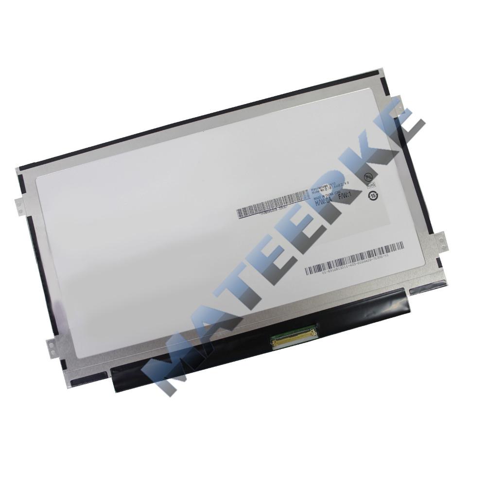 "NEW 10.1"" WSVGA Ultra Thin/Slim LED LCD Screen Replacement Display N101L6-L0D C1 / LTN101NT08 Glossy(China (Mainland))"