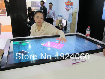 """42"""" infrared Multi Touch screen frame / panel  dual-touch for Interactive advertising  FreeShipping Cost"""