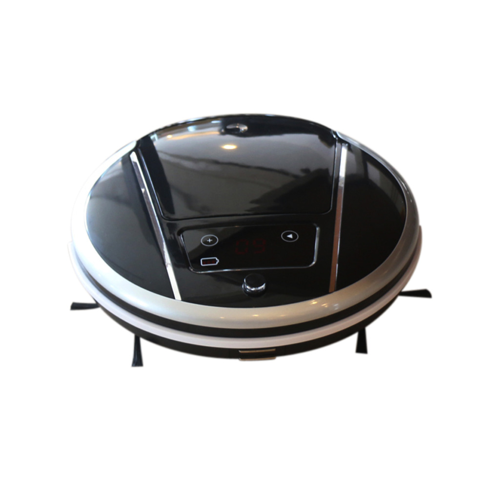 Intelligent Robot Vacuum Cleaner Home slim Remote Control&Auto Charging Robot Sweeping Machine HEPA Filters LED Display(China (Mainland))