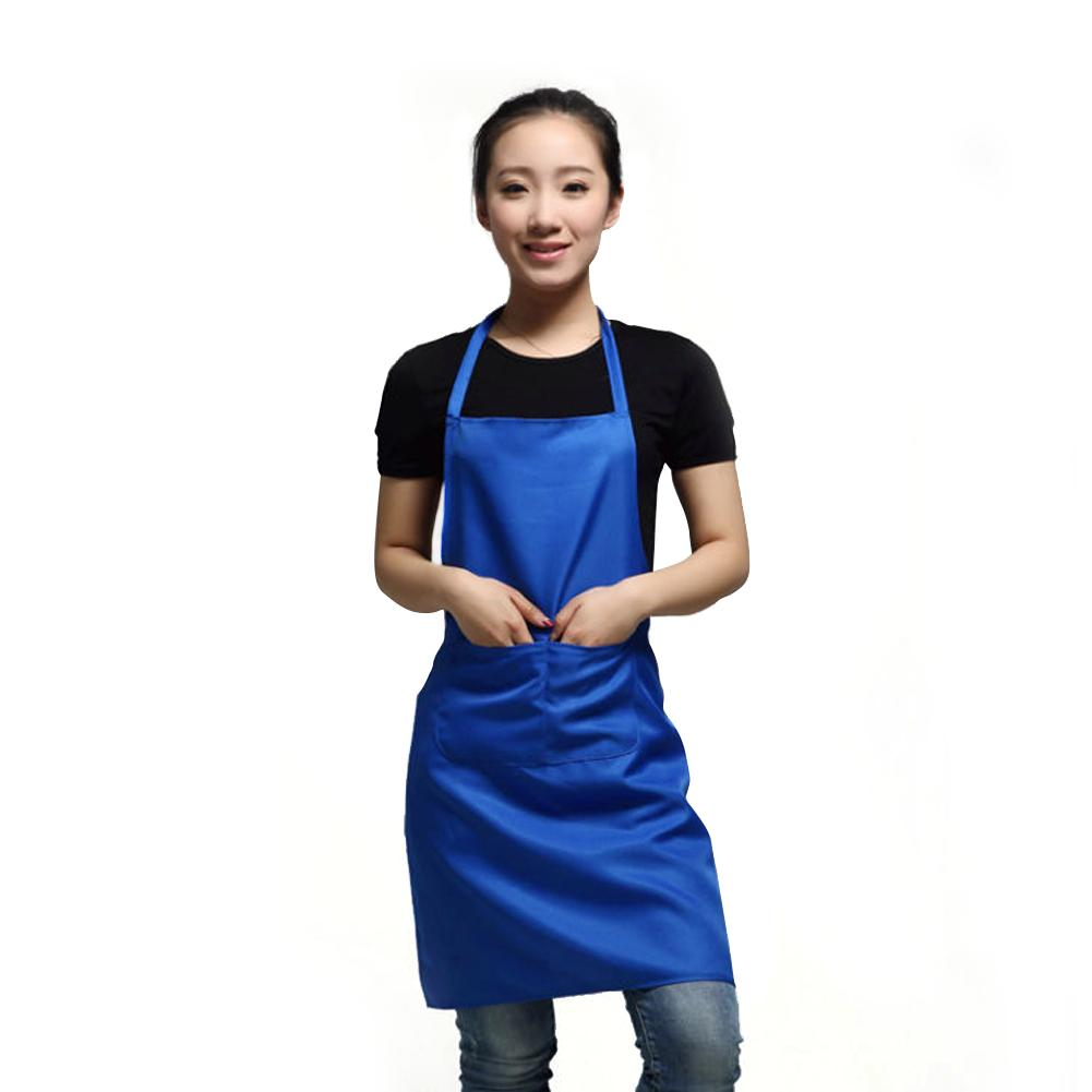Cheap+49%off Lady Waist Apron Commercial Restaurant Home Bib Kitchen Apron With Pocket Coffee(China (Mainland))