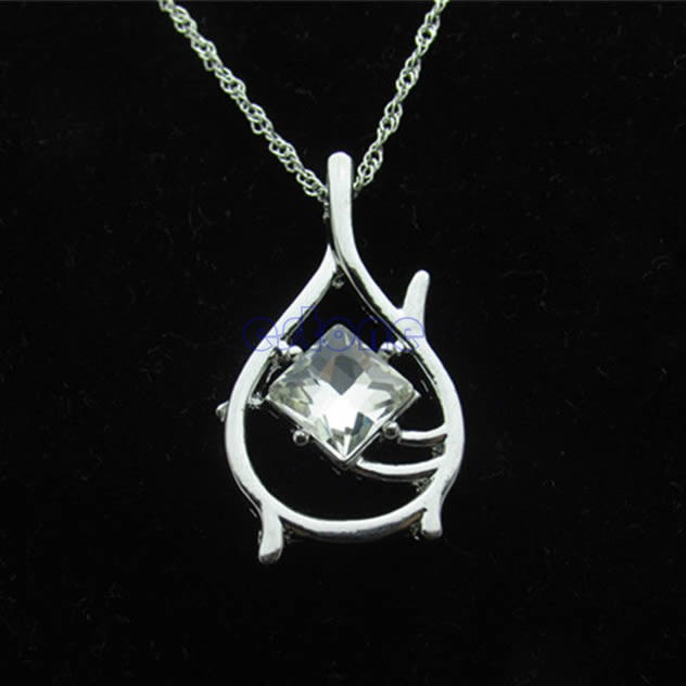 Film Lord of Ring Hobbit The Desolation of Smaug Tauriel Pendant Chain Necklace<br><br>Aliexpress