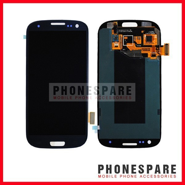 Фотография DHL 10 pcs/lot  For Samsung Galaxy S III S3 i9300 LCD screen with touch screen Digitizer, Original Blue Color