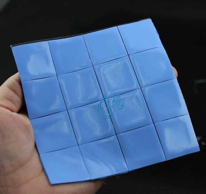 Гаджет  16pcs Lot 25x25x1MM Computer Xbox360 PS GPU CPU VGA Thermal Conductive Silicone Pad Pads None Компьютер & сеть