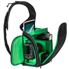2016 New Fashion SLR Sling Bag Camera Backpack Bag to Camera Brand Photography Camera Video Bag Photo DSLR Sling Camera Bag