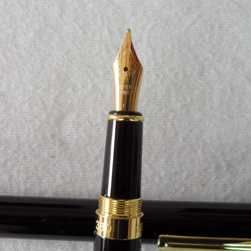 Перьевая ручка PARKER #360B 0,5 , перьевая ручка parker 360b 0 5