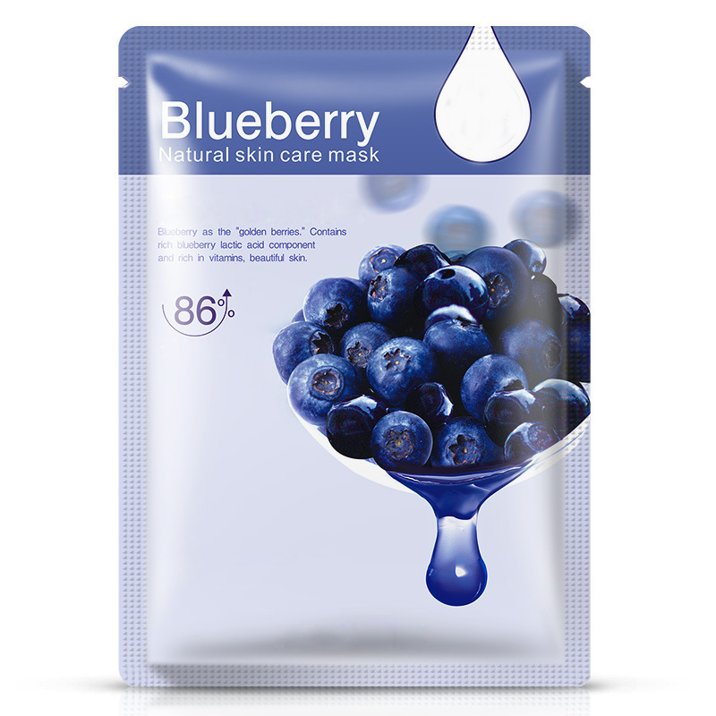 Hyaluronic Acid Snails Eggs Aloe Blueberry Essence Facial Mask Sheet Multi-style Whiten Moisturize Oil Control Face Mask
