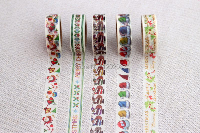 50pcs Free shipping 15mm*10m Korean Style Washi Tape Paper Japanese Washi Tape Wholesale Can be written Tape(China (Mainland))