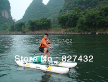 Free Shipping Inflatable Pedal Boats Sea Water Bicycle(China (Mainland))