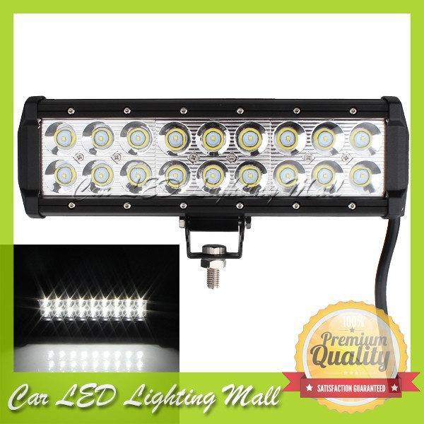 Free EMS/DHL Shipping!9Inch  54w CREE led light bar ,CREE led work light super bright for off road ,ATV,utv,jeep ,truck ,mining