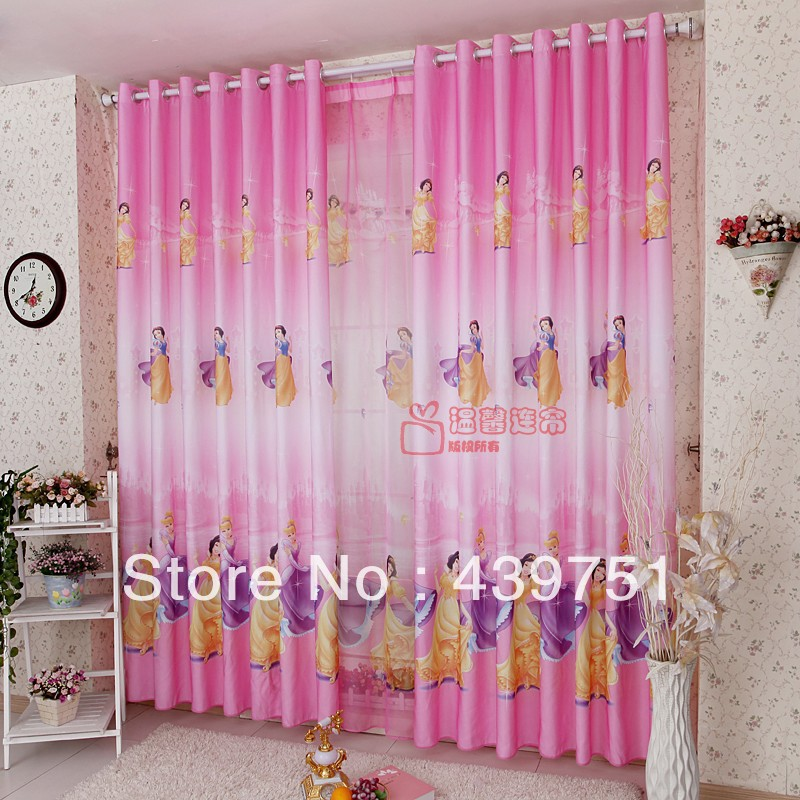 Kids children cartoon curtains for window fabric cortinas for Childrens bedroom curtain fabric