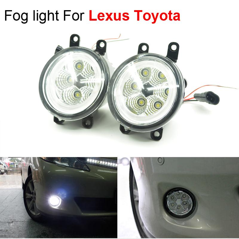 6x3W High Power Car Styling LED Angel Eyes Light Foglights Assembly For Lexus Toyota RAV4 Corolla Camry Prius ETC Free Shipping<br><br>Aliexpress