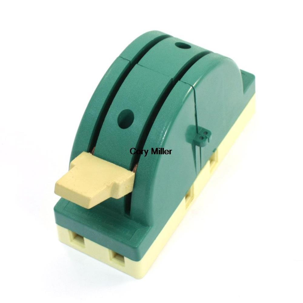 AC 250V 63A 2P Double Throw Circuit Control Knife Disconnect Switch Green<br><br>Aliexpress