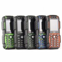 Original Mini A9 small mobile phones student pocket card waterproof 3000mAh Power Bank Dual SIM Russian Keyboard