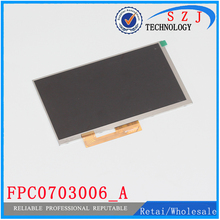Original 7'' inch LCD Display Matrix FPC0703006_A FPC0703006 3G TABLET 1024*600 LCD Screen Lens Frame replacement Free Shipping(China (Mainland))