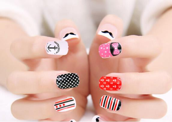 Chic Nail Full Wrap Decal Art Decoration Stickers Sticker Tips Retail Package - Vikyson Technology Co., Ltd store