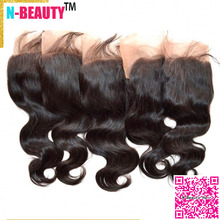 13×4 Peruvian Lace Frontal Closure 8A Grade 5pcs/lot Body Wave Lace Frontal Bleached Knots Peruvian Virgin Hair Free Middle Part