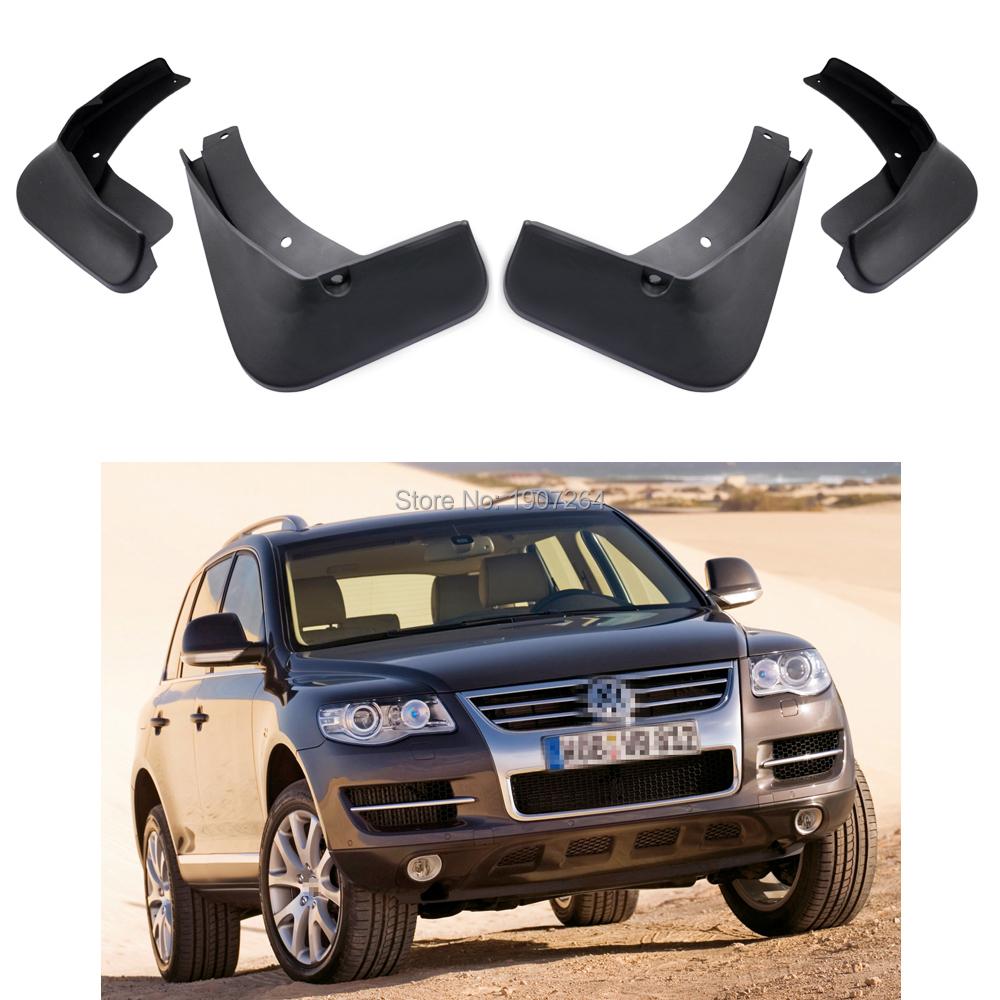 1Set Mud Flap Splash Guard For Volkswagen Touareg 2007-2010