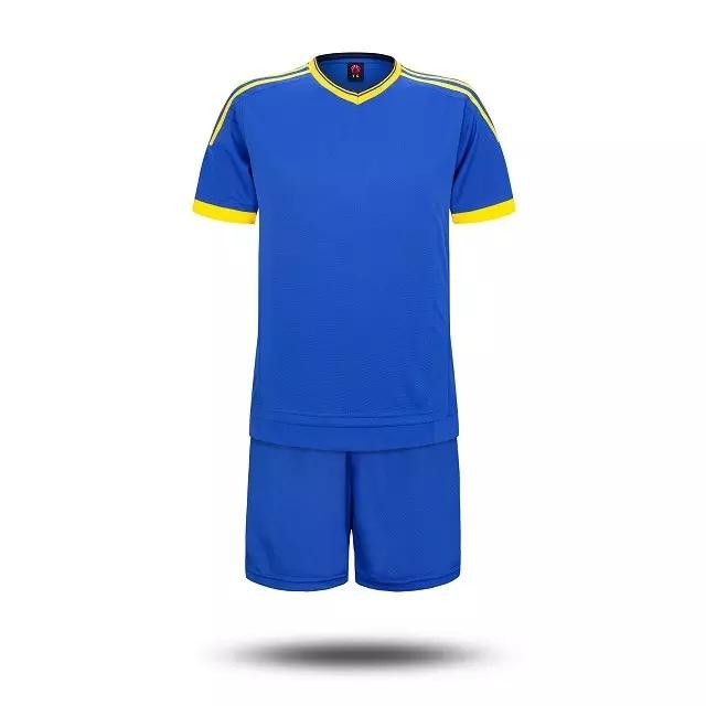New Survetement Football 2016 2017 Adult/child Soccer Sets Training Football Suit Short Sleeve Soccer Jerseys Shorts Custom Made(China (Mainland))