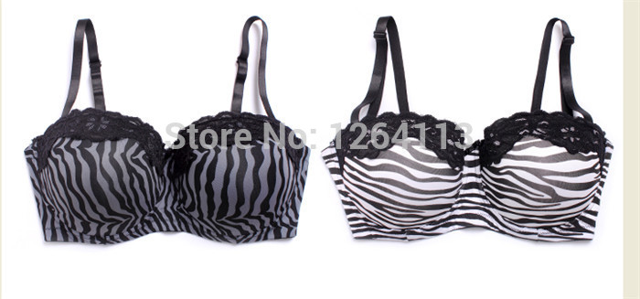 WX14032 free shipping women plus size bra C/D/DD 38 40 42 sexy bras big size high quality strapless bra 2 style(China (Mainland))