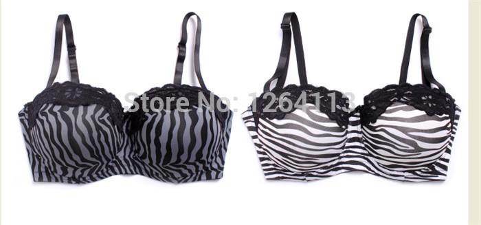 WX14032 free shipping women plus size bra C/D/DD 38 40 42 sexy bras big size high quality strapless bra 2 style(China (Mainland))