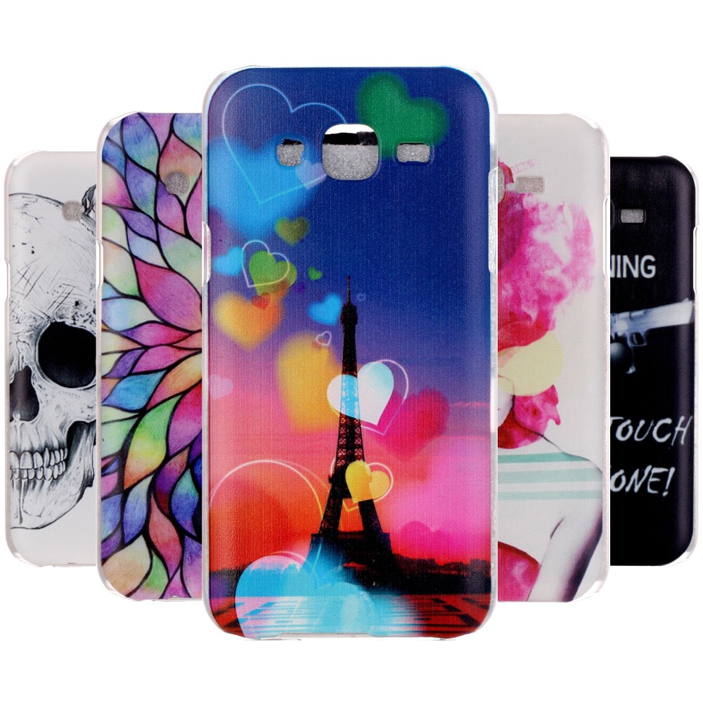 Ultra Thin Painted Luxury Hard Plastic Case for Samsung Galaxy J5 J500 Mobile Cell Phone Back Cases for Samsun Galaxy J5 Cover(China (Mainland))